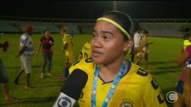 Tiradentes conquista Copa Piauí feminina 2017