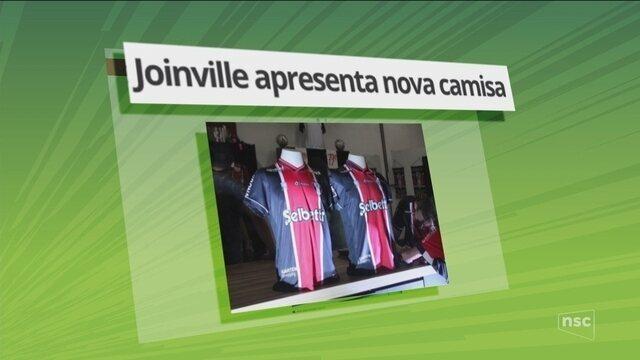 Joinville apresenta nova camisa para 2018