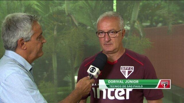 Dorival diz que São Paulo precisa de mais dois reforços no ataque