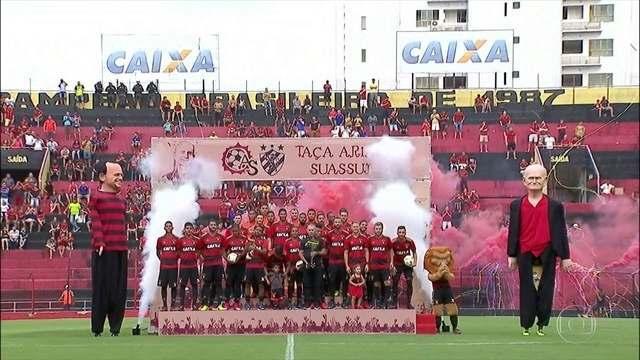 Em estreia na temporada, Sport vence Atlético Tucumán pela Taça Ariano Suassuna