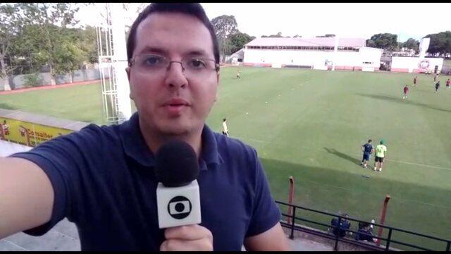 Por dentro do treino: Forner faz alterações no Coritiba para a estreia no Paranaense