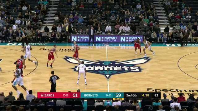 Melhores momentos: Washington Wizards 109 x 133 Charlotte Hornets pela NBA