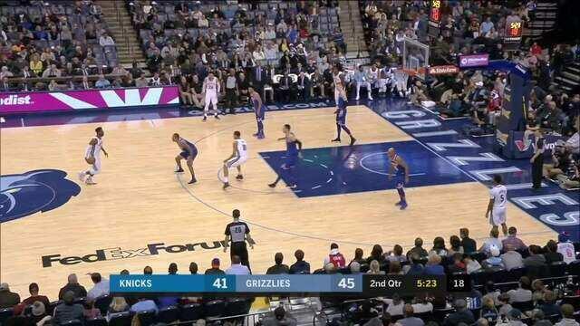 Melhores momentos: New York Knicks 99 x 105 Memphis Grizzlies pela NBA