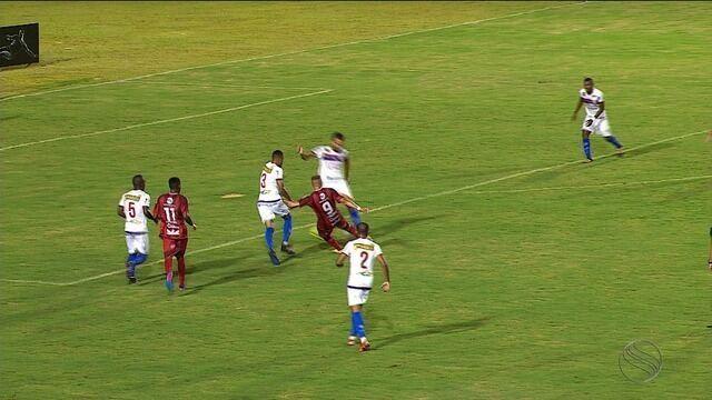 Itabaiana ficou no empate sem gols com o Dorense