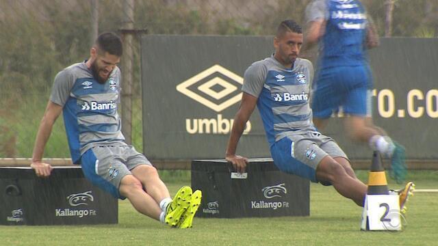 Time principal do Grêmio se prepara para 2018