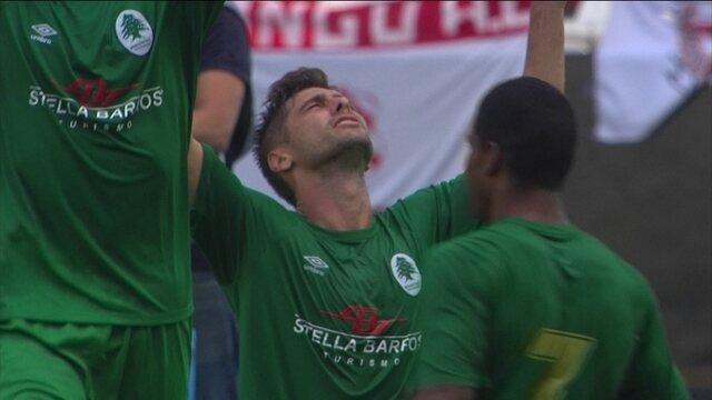 Os gols de Boavista 2 x 2 Bangu pela semifinal da Taça Guanabara 2018