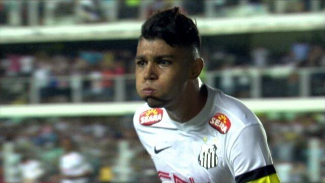 Veja os gols de Gabigol, do Santos, contra o Corinthians