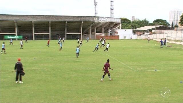 Ituano treina para enfrentar o Mirassol no Paulistão