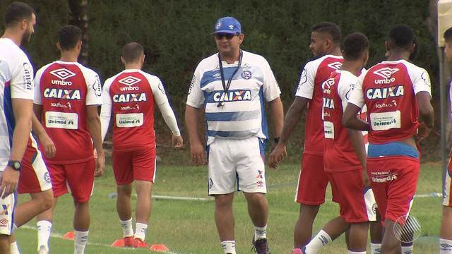 Bahia se prepara para o Ba x Vi que acontece neste domingo (18)