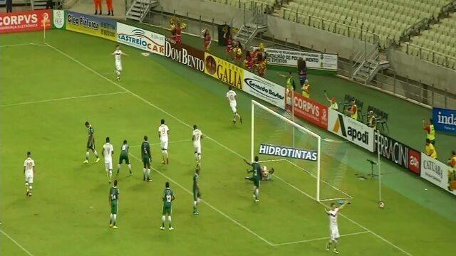 Confira os gols de Fortaleza 3 x 2 Floresta, pelo Campeonato Cearense