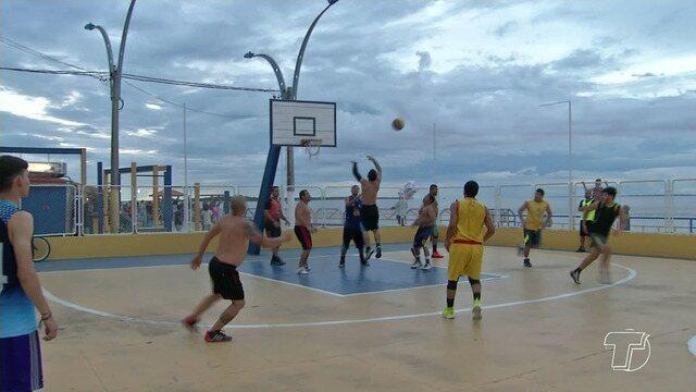 Falta de apoio pode tirar seleção santarena de basquete dos jogos abertos do Pará