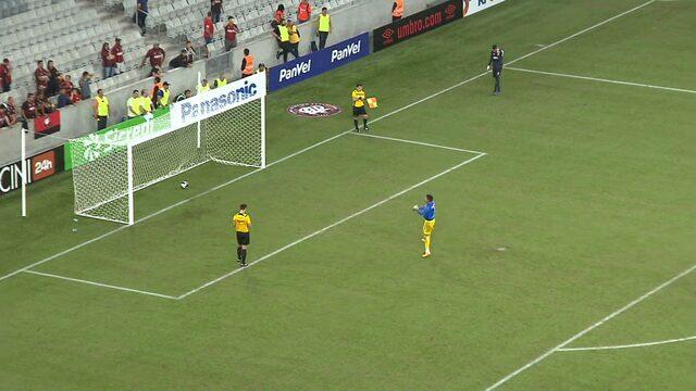 Veja os pênaltis de Atlético-PR 5 x 6 Rio Branco-PR pela semifinal do Paranaense