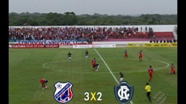 Time misto do Remo perde para o Bragantino por 3 a 2