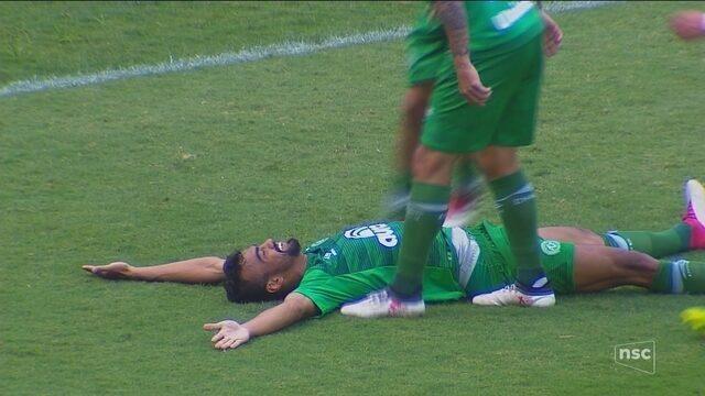 Fabrício Bruno marca, Chape vence o Avaí e abre vantagem para o rival no Catarinense
