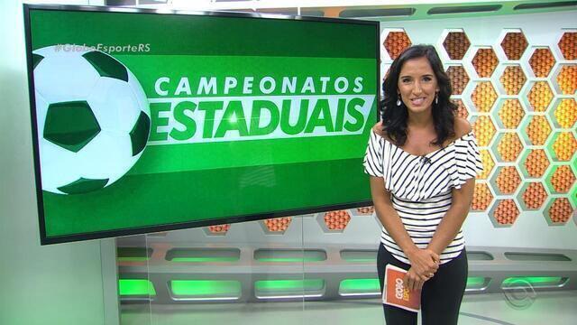 Confira a íntegra do Globo Esporte desta segunda-feira (19)