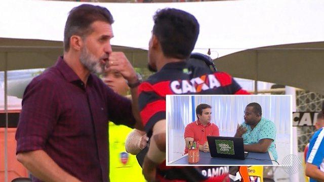 BA-VI: Vagner Mancini nega acusação de orientar atleta a provocar encerramento do jogo