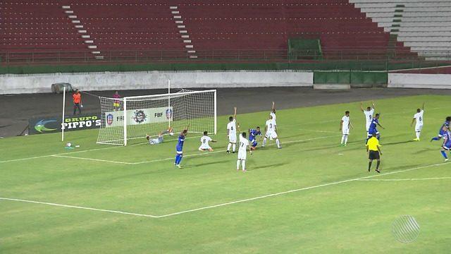 Bahia de Feira vence o Fluminense de Feira por 2 a 0 pelo Campeonato Baiano