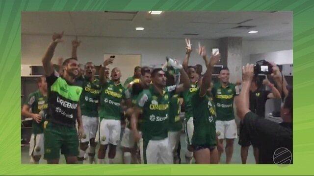 Na Copa do Brasil, tivemos uma virada do Cuiabá em cima do Aparecidense de Goiás.