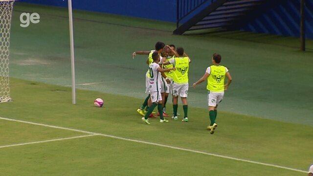 Veja os gols de Manaus 3 x 1 Nacional, pelo Amazonense