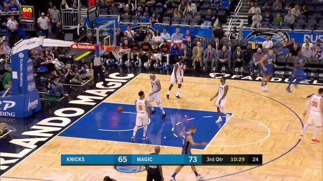 Melhores momentos: Knicks 120 x 113 Magic pela NBA