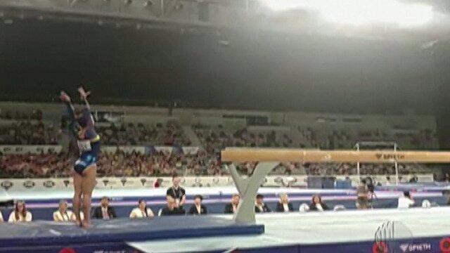Mogiana brilha na Copa do Mundo de Ginástica, na Austrália