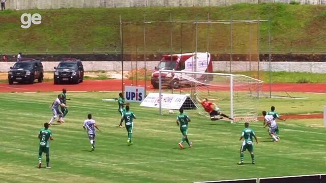 Os gols de Paranoá 1 x 1 Formosa pelo Campeonato Brasiliense 2018