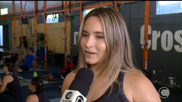 Andressa Brito usa o CrossFit para ganhar resistência e força no taekwondo