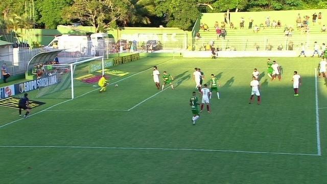 Os gols de Fluminense 1 x 1 Cabofriense pela 6ª rodada da Taça Rio