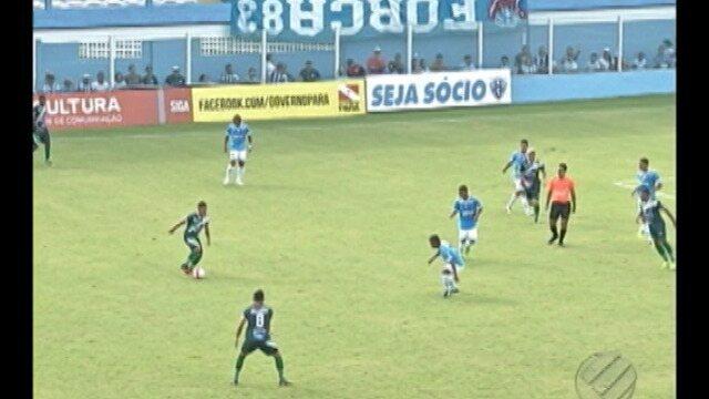 Paysandu empata com Paragominas, no Estádio Curuzu