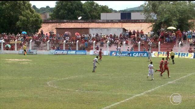 Piauí segura o 4 de julho em Piripiri e garante classificação para semifinais