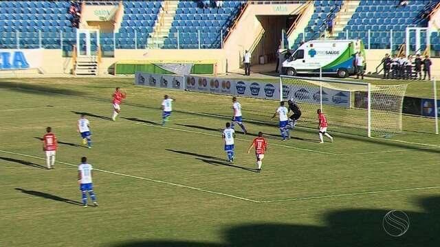 Clássico Maior: Confiança e Sergipe empatam na Arena Batistão pelo hexagonal