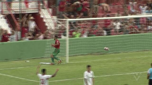 Portuguesa Santista vence o Desportivo Brasil e mantém liderança da A3