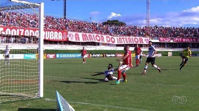 Anapolina bate o Atlético-GO por 2 a 0 e se classifica