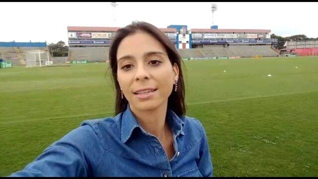 Nadja Mauad traz as últimas informações do treino e as negociações do Paraná Clube