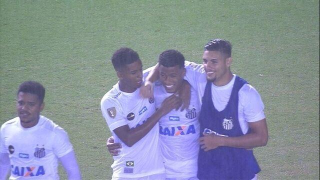 Os pênaltis de Santos 0 (3) x (1) 0 Botafogo-SP pelas quartas de final do Paulistão