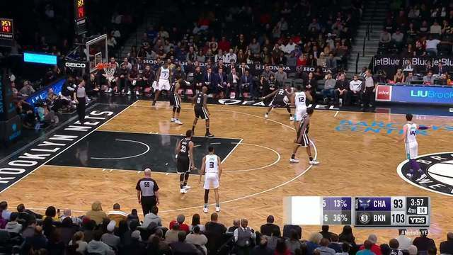 Melhores momentos: Charlotte Hornets 111 x 106 Brooklyn Nets pela NBA