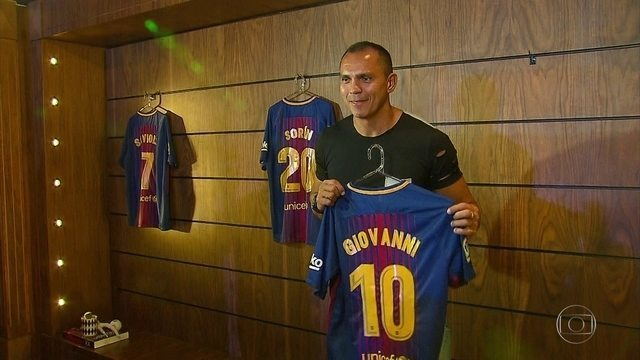 Barcelona Legends começa a se montar para jogo com Seleção Pernambucana, dia 14 de abril