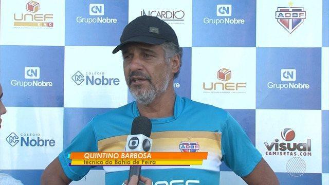 Bahia de Feira terá retornos importantes para a semifinal do Campeonato Baiano