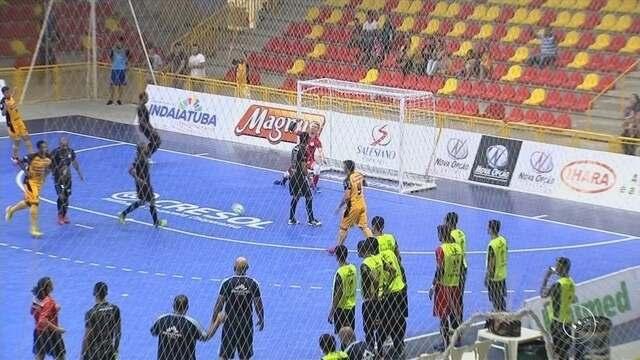 Sorocaba recebe o Jaraguá pela liderança da Liga Nacional de Futsal