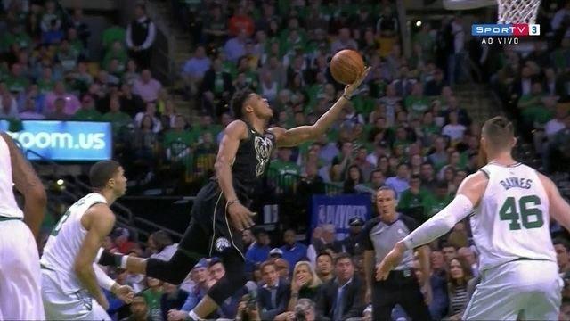 Melhores momentos de Milwaukee Bucks 87 x 92 Boston Celtics pela NBA