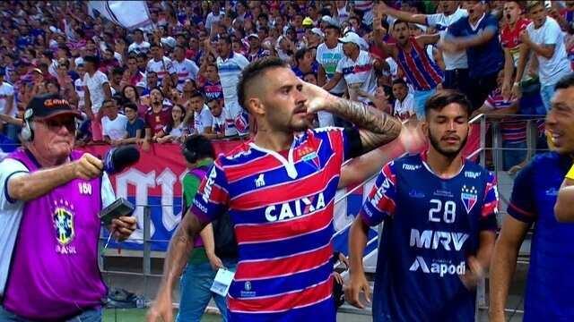 Os gols de Fortaleza 3 x 1 CRB pela 3ª rodada da Série B 2018