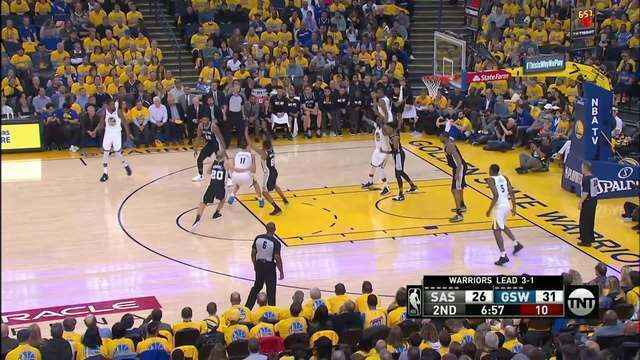 Melhores momentos de Golden State Warriors 99 x 91 San Antonio Spurs pela NBA