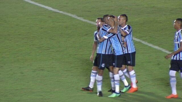 Os gols de Goiás 0 x 2 Grêmio pelas Oitavas de Final da Copa do Brasil
