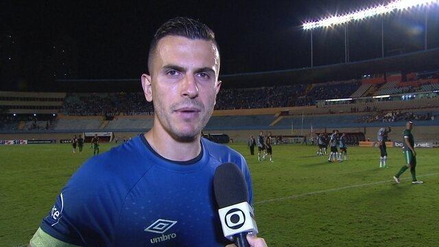 Marcelo Grohe fala sobre a preparação do Grêmio para os campeonatos