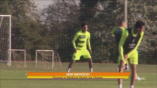 Criciúma tenta dois atletas da Chape, mas ouve não, e negociações não avançam