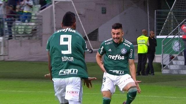 Os gols de Palmeiras 3 x 0 Bahia pela 6ª rodada do Campeonato Brasileiro