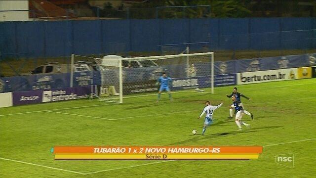 Tubarão é superado pelo Novo Hamburgo; confira os gols dos catarinenses