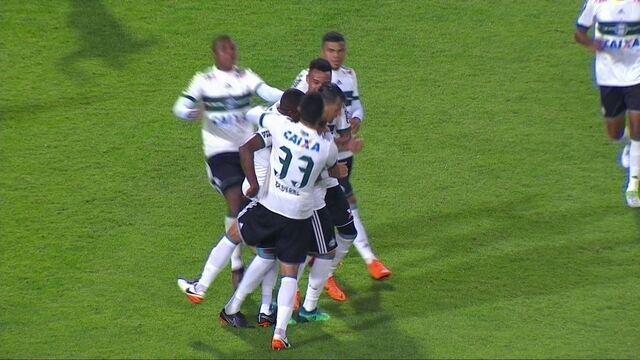 Os gols de Coritiba 2 x 0 Vila Nova pela 7ª rodada da Série B