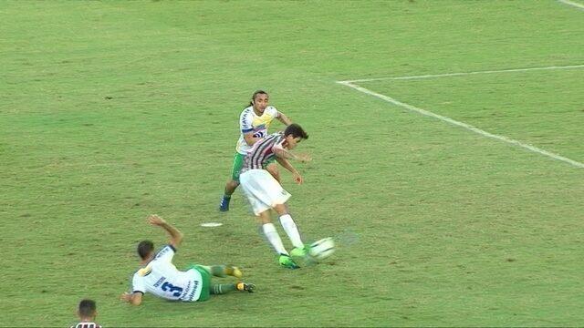 Os gols de Fluminense 3 x 1 Chapecoense pela 7ª rodada do Campeonato Brasileiro