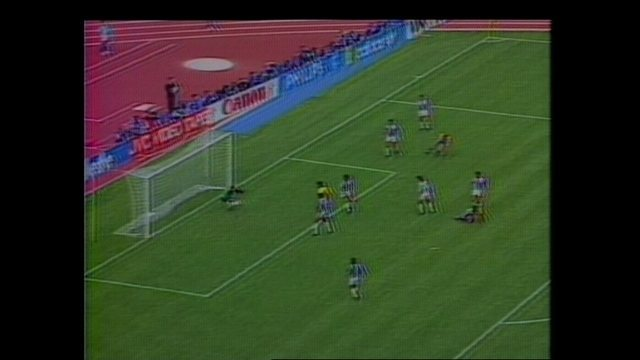 Em 1990, Brasil vence Costa Rica por 1 a 0 pela Copa do Mundo